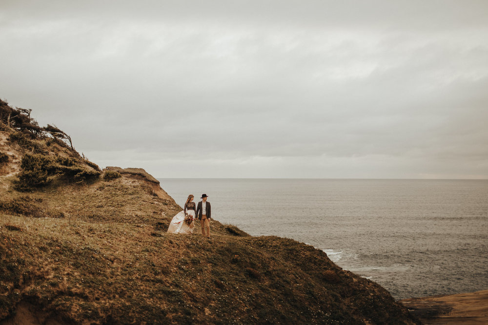 Cape Kiwanda - Elopement - Oregon - Wedding Photographer - Pat Cori Photography-57.jpg