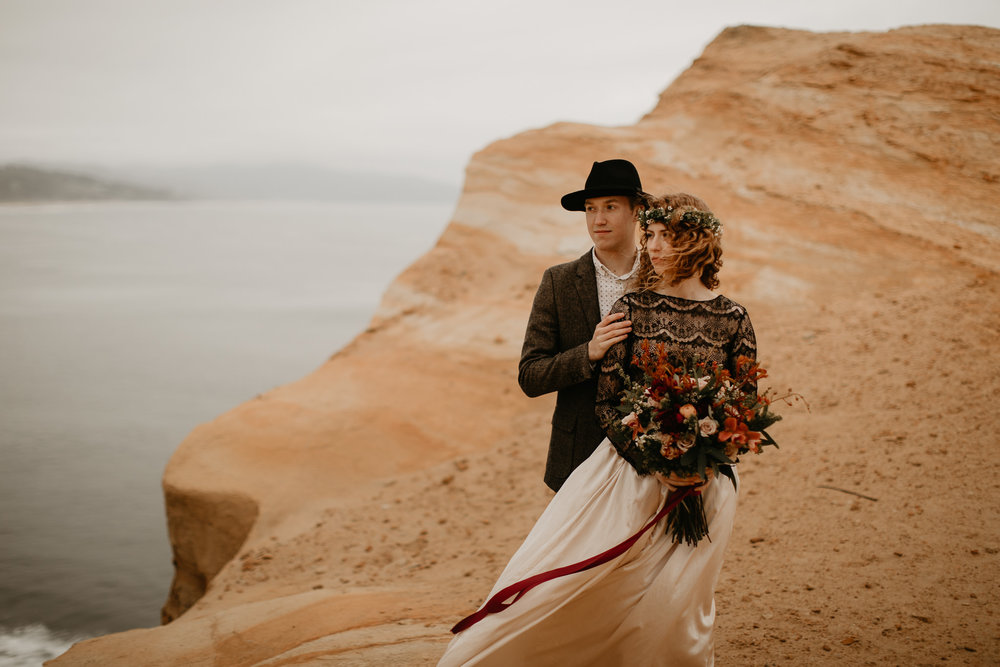 Cape Kiwanda - Elopement - Oregon - Wedding Photographer - Pat Cori Photography-68.jpg