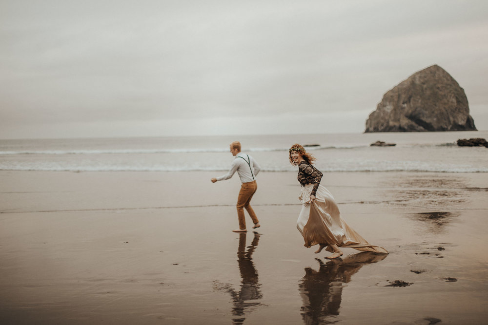 Cape Kiwanda - Elopement - Oregon - Wedding Photographer - Pat Cori Photography-72.jpg