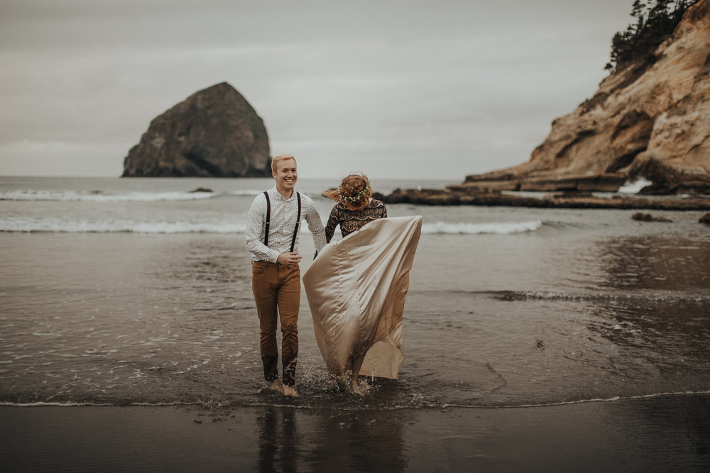 Cape Kiwanda - Elopement - Oregon - Wedding Photographer - Pat Cori Photography-82.jpg