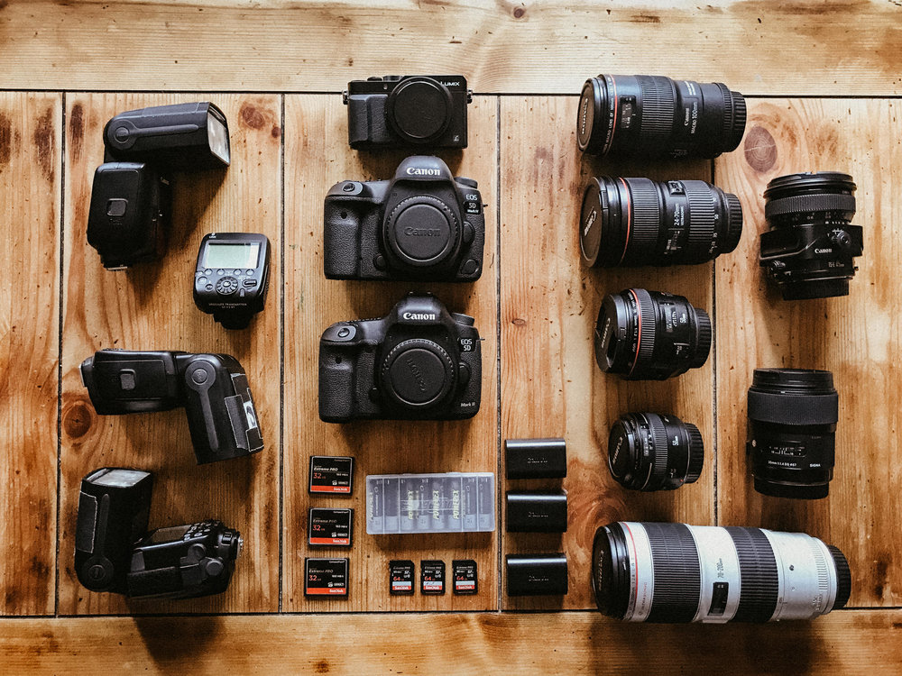 professional- equipment - canon -Wedding Photographer - best -ge