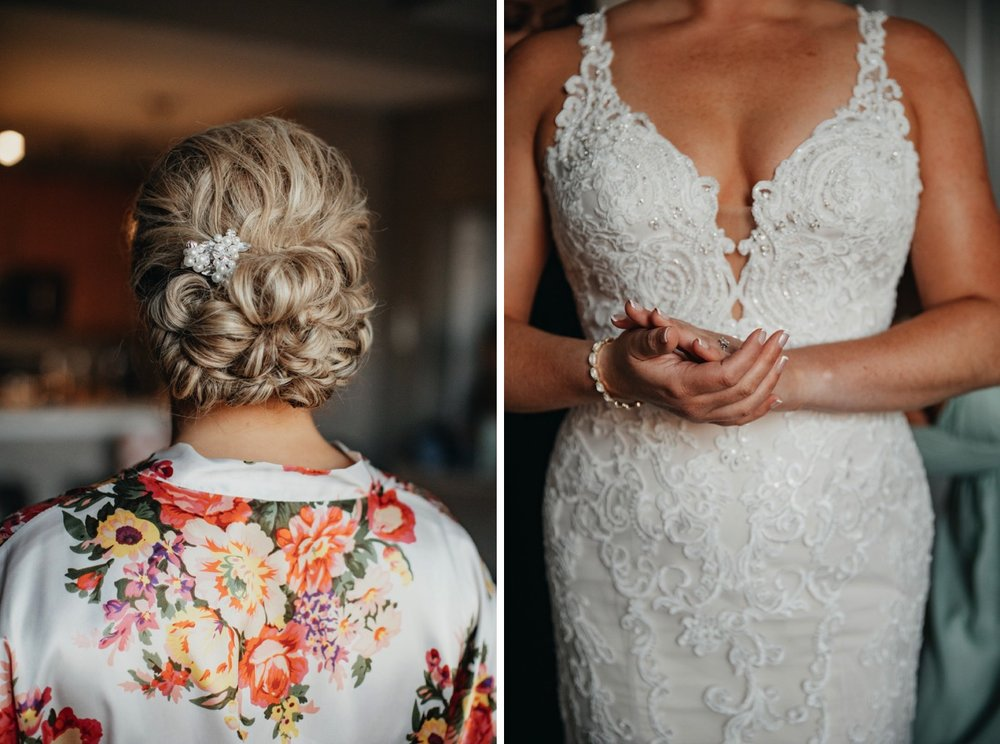 Bride's hair ideas