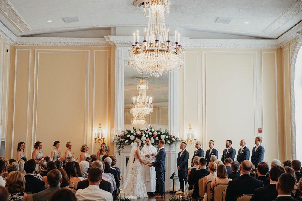 Ceremony pictures - Patrick Henry Ballroom