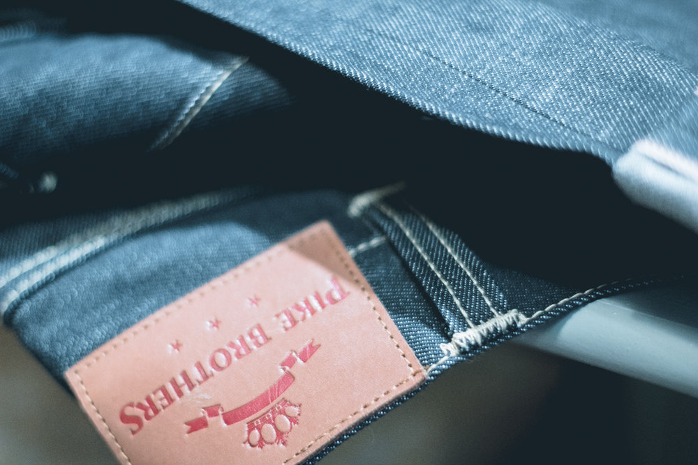 selvedge denim construction