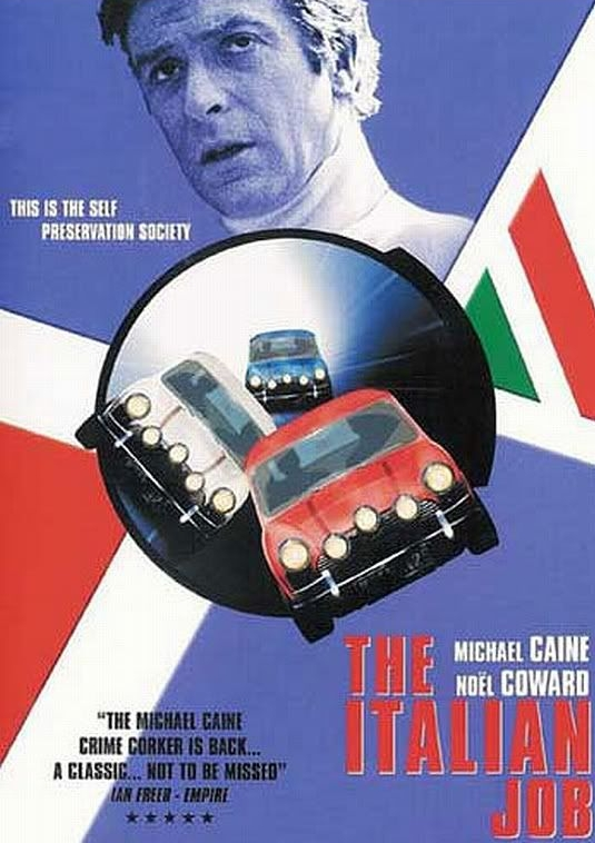 The Italian Job 1969 Michael Caine