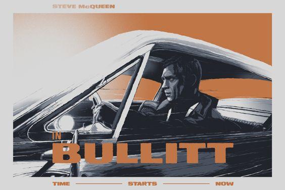Steve McQueen Bullitt 1968