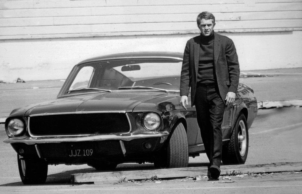 Steve McQueen Bullitt Style 1968