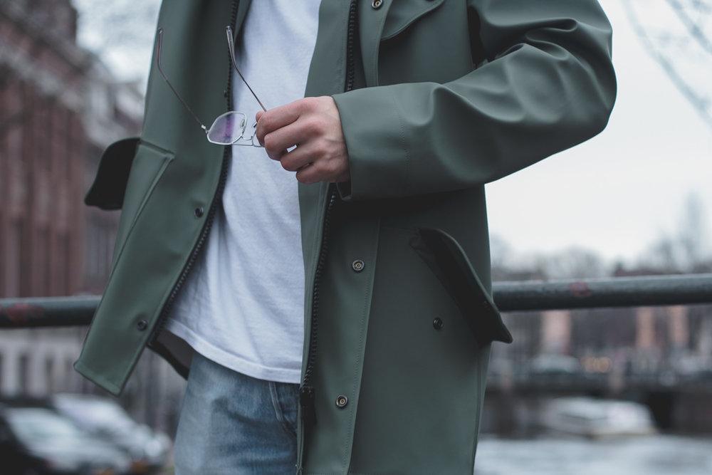 fisherman rain coat