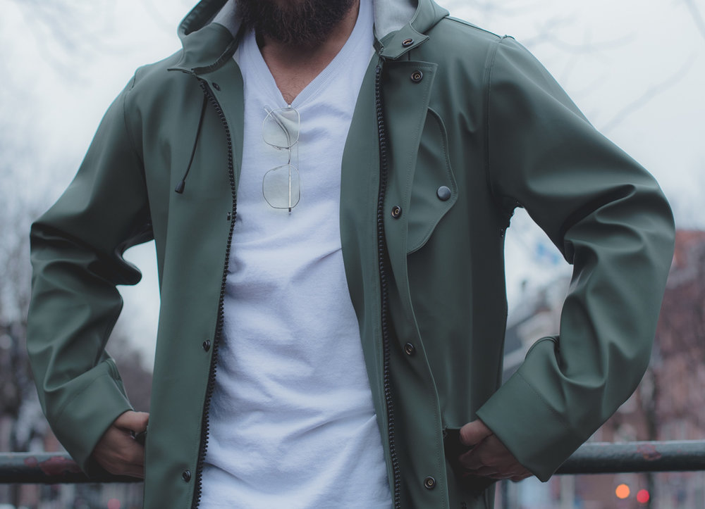 classic fishermans coat