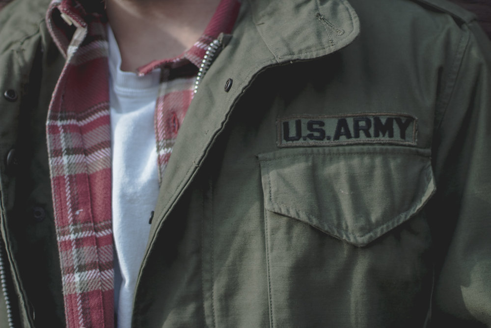 US Army vintage jacket