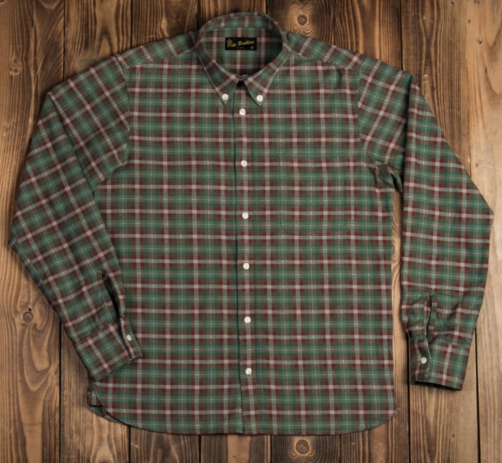 1959 Button down shirt Treves green