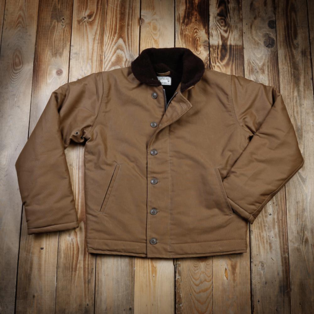 1944 N1 Deck Jacket waxed khaki