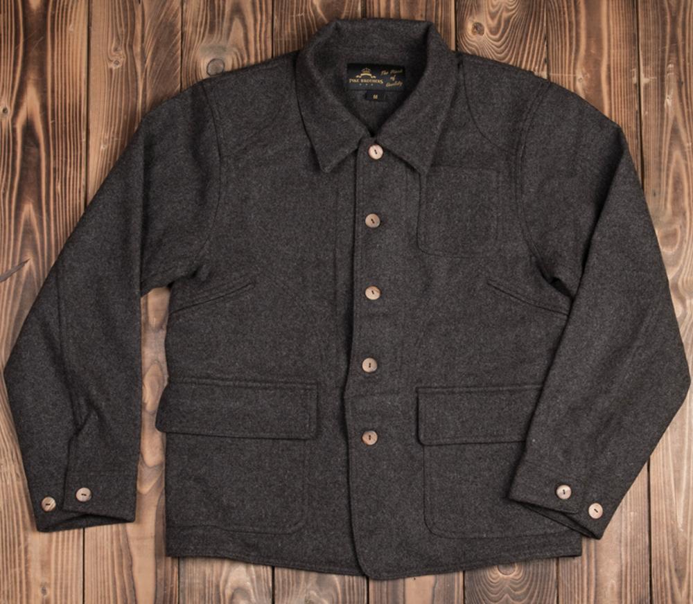 1942 Hunting Jacket brown melange wool