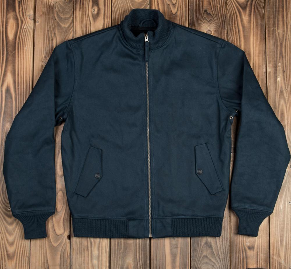 1957 Elephant Skin Zip Jacket
