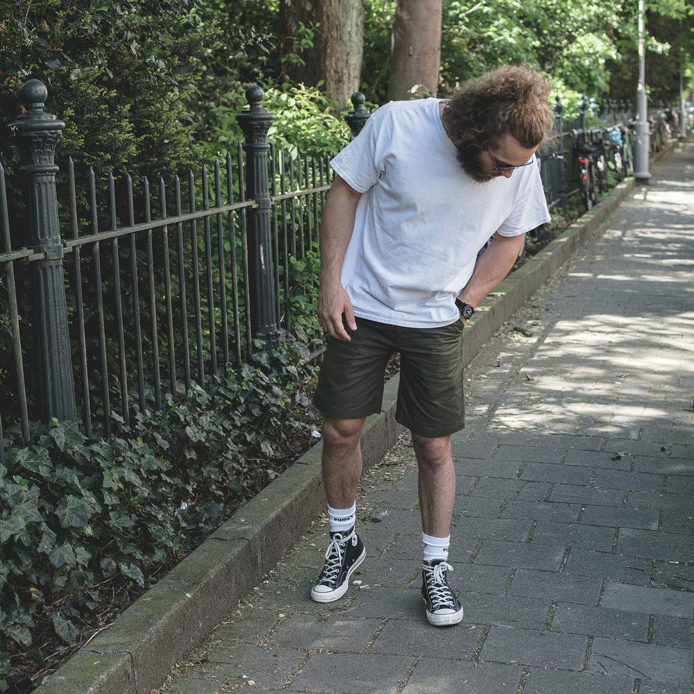 The Brute Supply Co Canvas Shorts Kerbside & Co