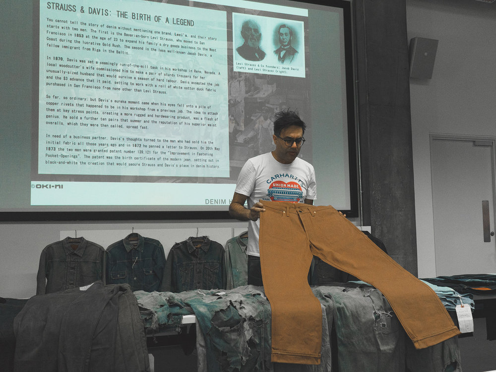 The Brute Supply x Mohsin Sajid - Endrime - Denim History - London Ravensbourne University