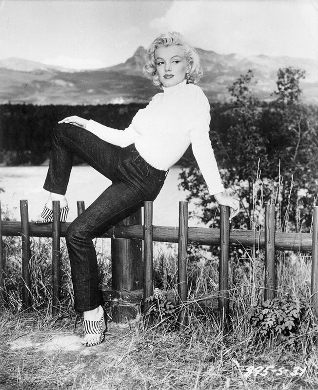 Marilyn Monroe - Levis - Source: Cloak and Dagger NYC