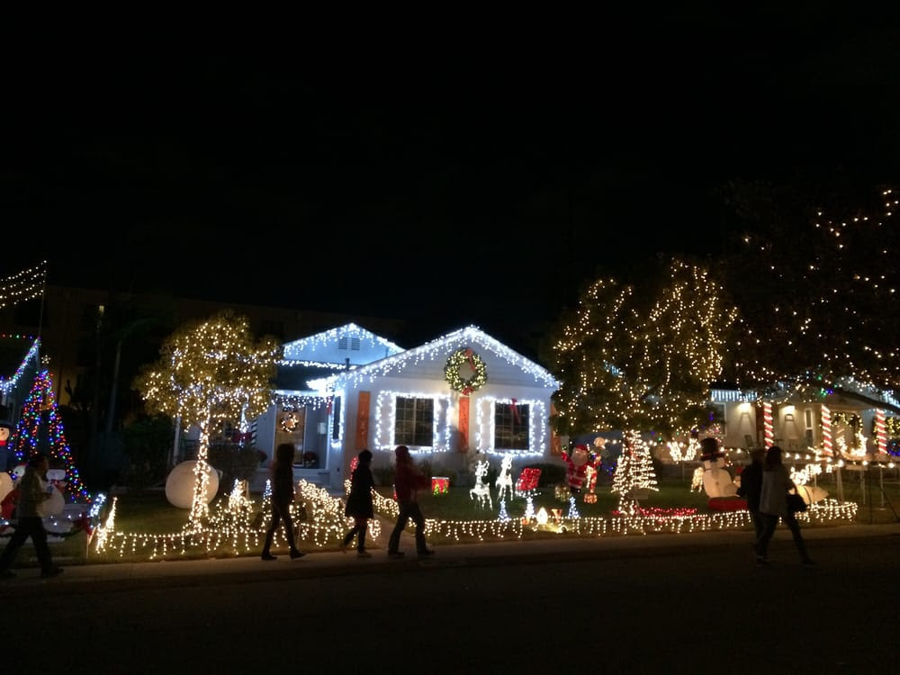 We will all   be heading out to   Candy Cane Lane in El Segundo  directly after the Sunday evening service. Please come along with us and bring the kids - young and old! Parking is free (residential)