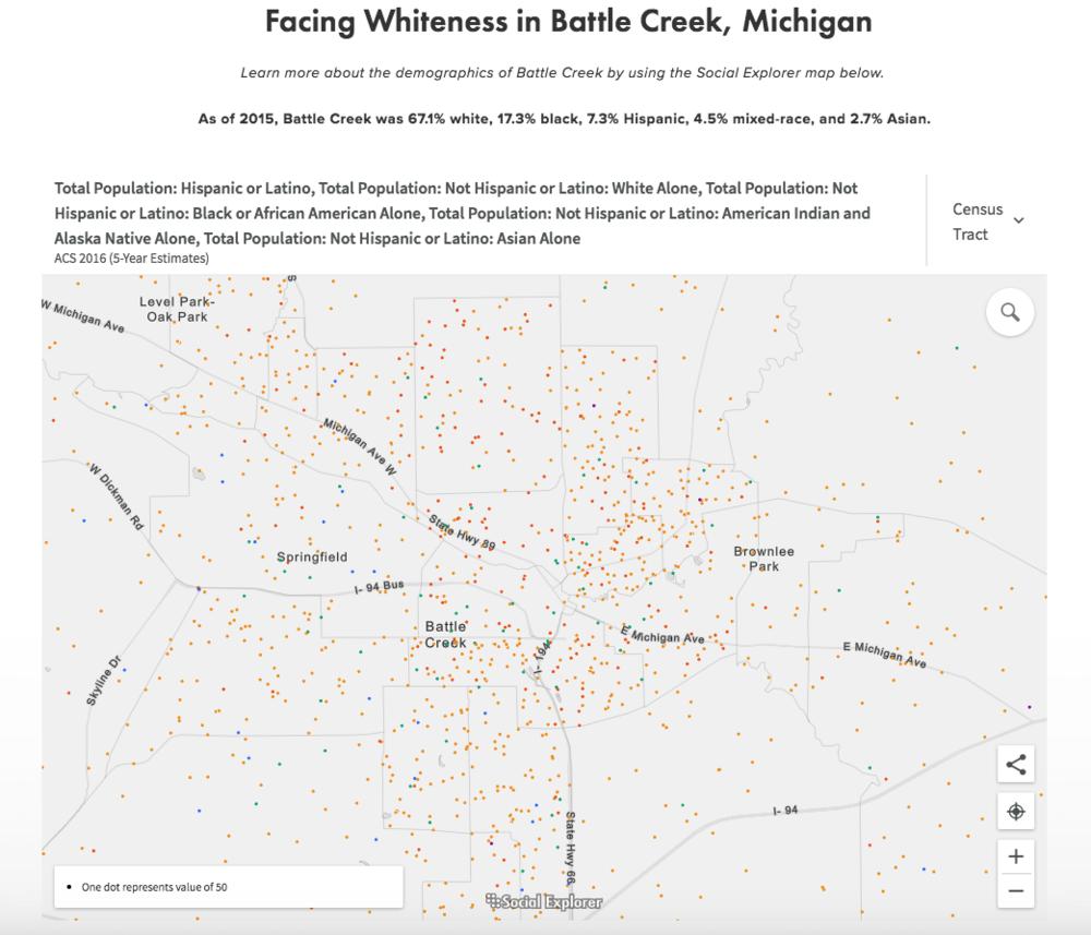 Battle Creek Demographics
