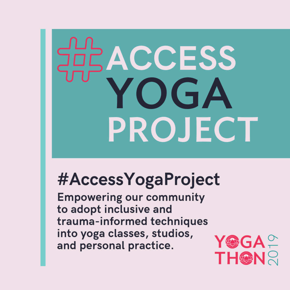 Living Yoga's Access Yoga Project, Yogathon 2019