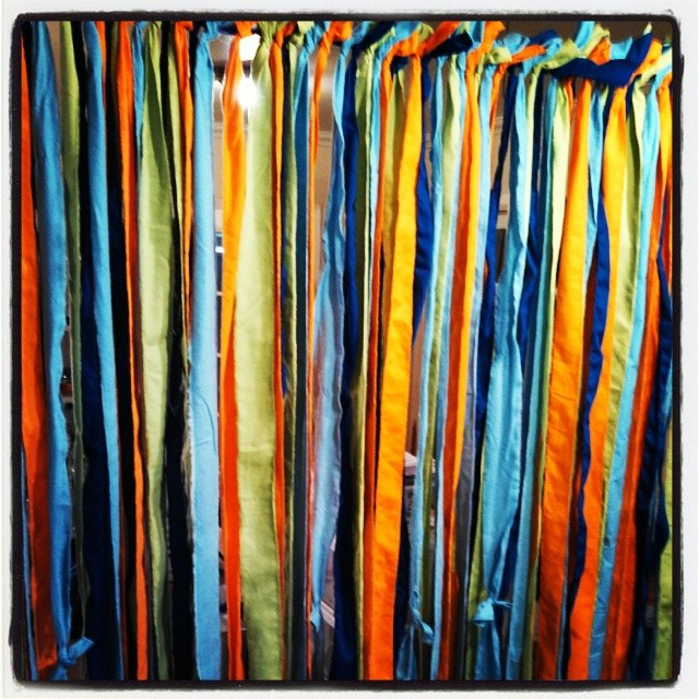 Frill Curtain Backdrop