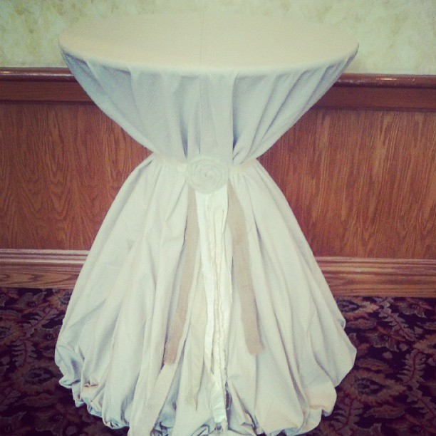 Jute Table Cover