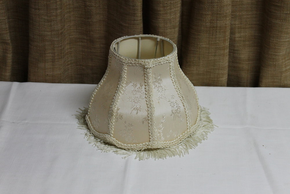 Ivory Vintage Lamp Shade