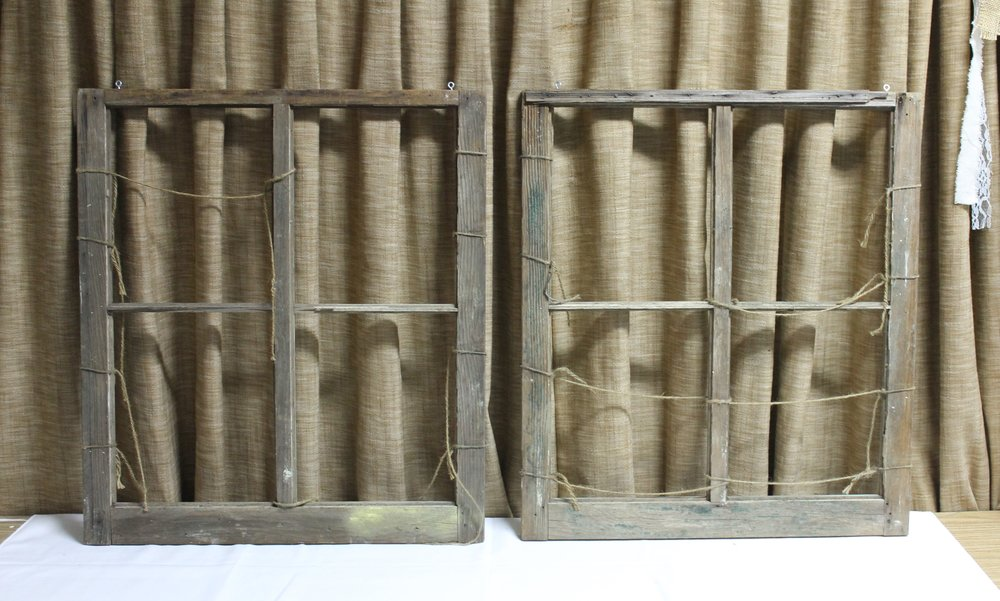 Fran: Vintage Window Frame