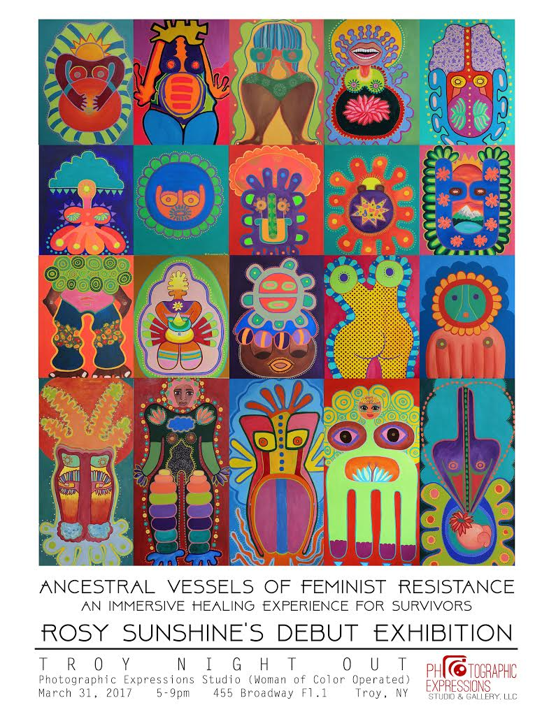 SPECIAL ARTIST EXHIBITION: Rosy Sunshine, Ancestral Vessels of Feminist Resistance