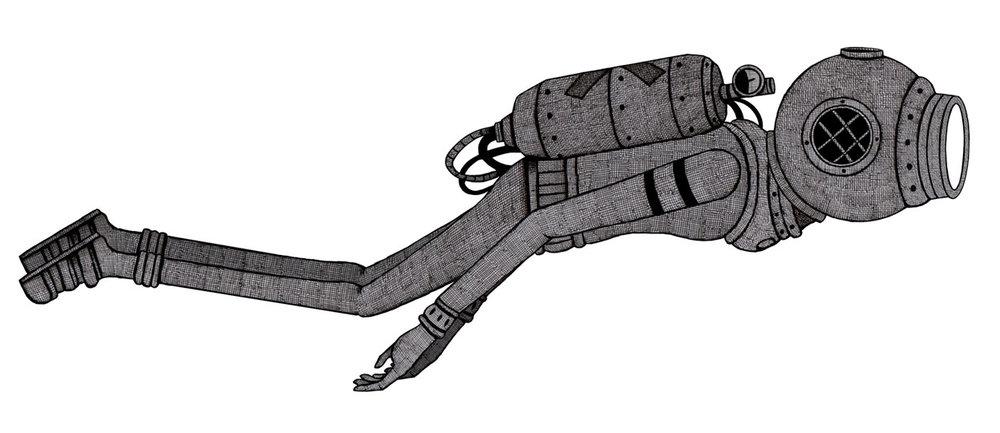 'Diver rig'