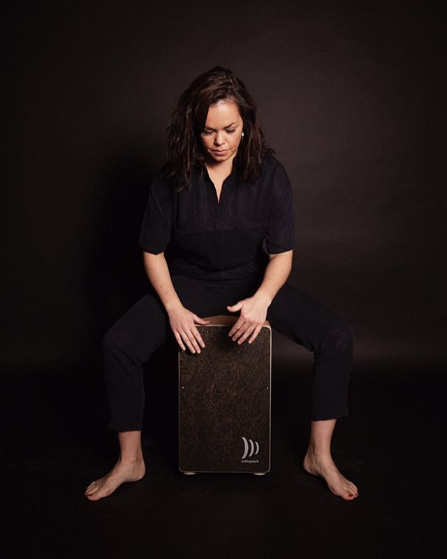 Meet Tinkers Percussionist Emma King  #ceilidh #dance #ceilidhband #folk #music #musician #traditional #trad #tunes #cajon #schlagwerk #percussionist #drums #drummer #irish #scottish #british #london