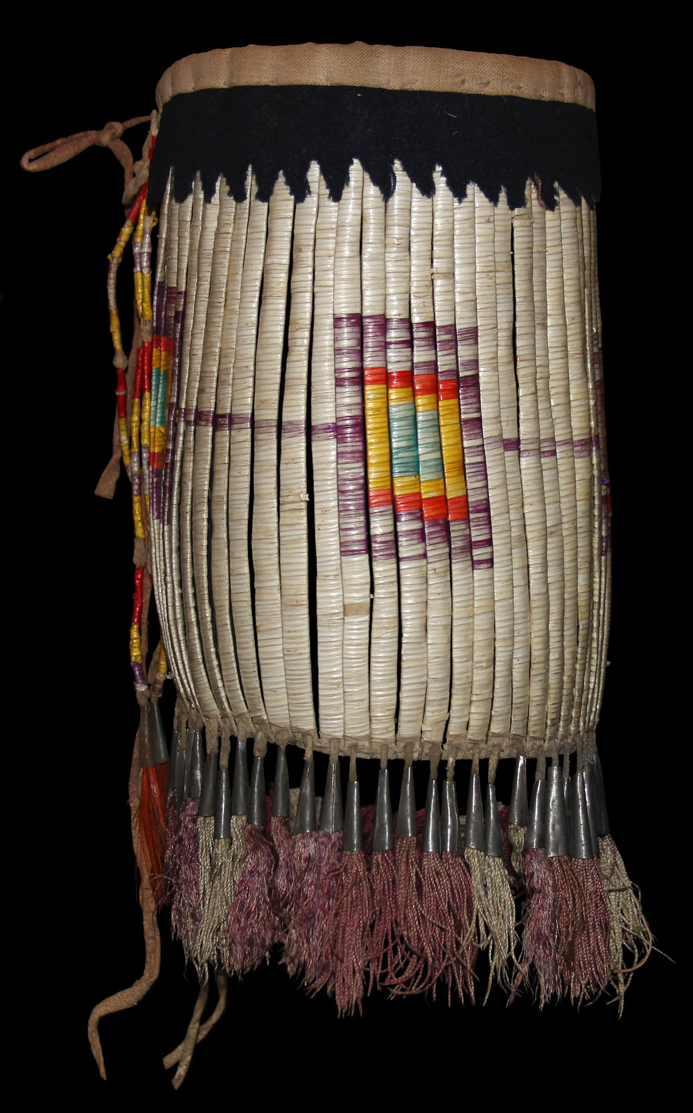 Quilled Leg Band (ca. 1800s).