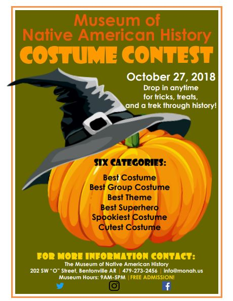 halloween costume contest museum of native american history