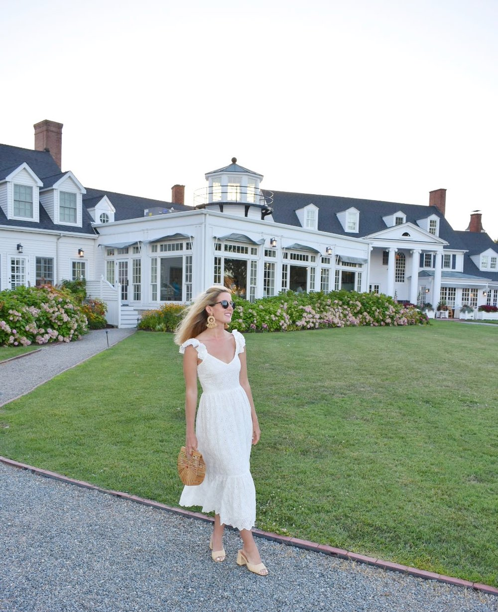 The Perfect White Midi Dress For Summer From H M Soirees For Days