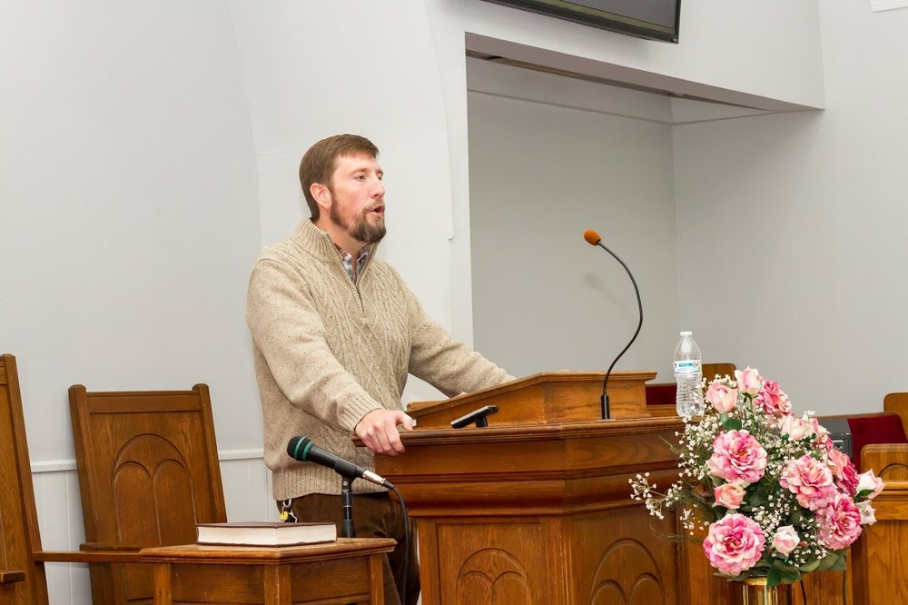 Pastor  Jeff Holder - Jeff is a graduate of Fruitland Baptist Bible College, and Piedmont International University. Jeff came to Society in 2014.  He has a passion to teach and preach the Bible, and to reach the community for Christ.  He enjoys playing the guitar, reading, and looking for the best BBQ around.
