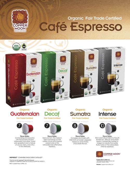 Café Espresso Capsules
