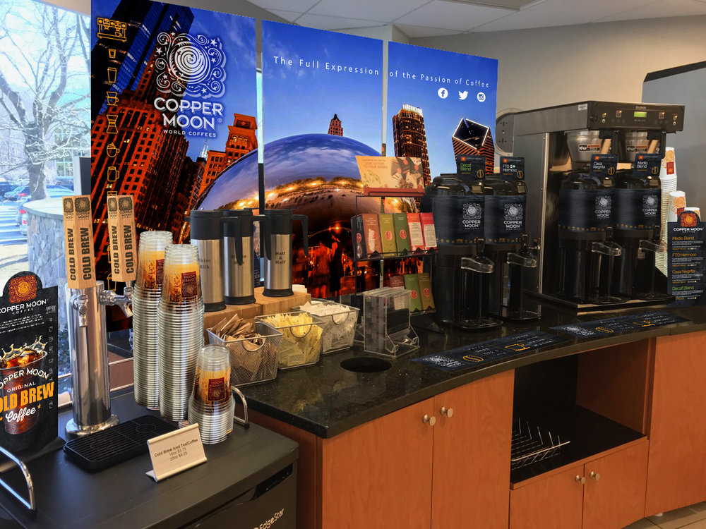 - Copper Moon Coffee offers just the right brand Choices for your distribution business