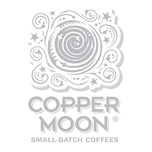 Small-Batch Crafted by Copper Moon Coffee