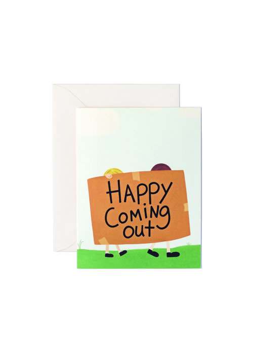 Greeting cards courage card co happy coming out m4hsunfo