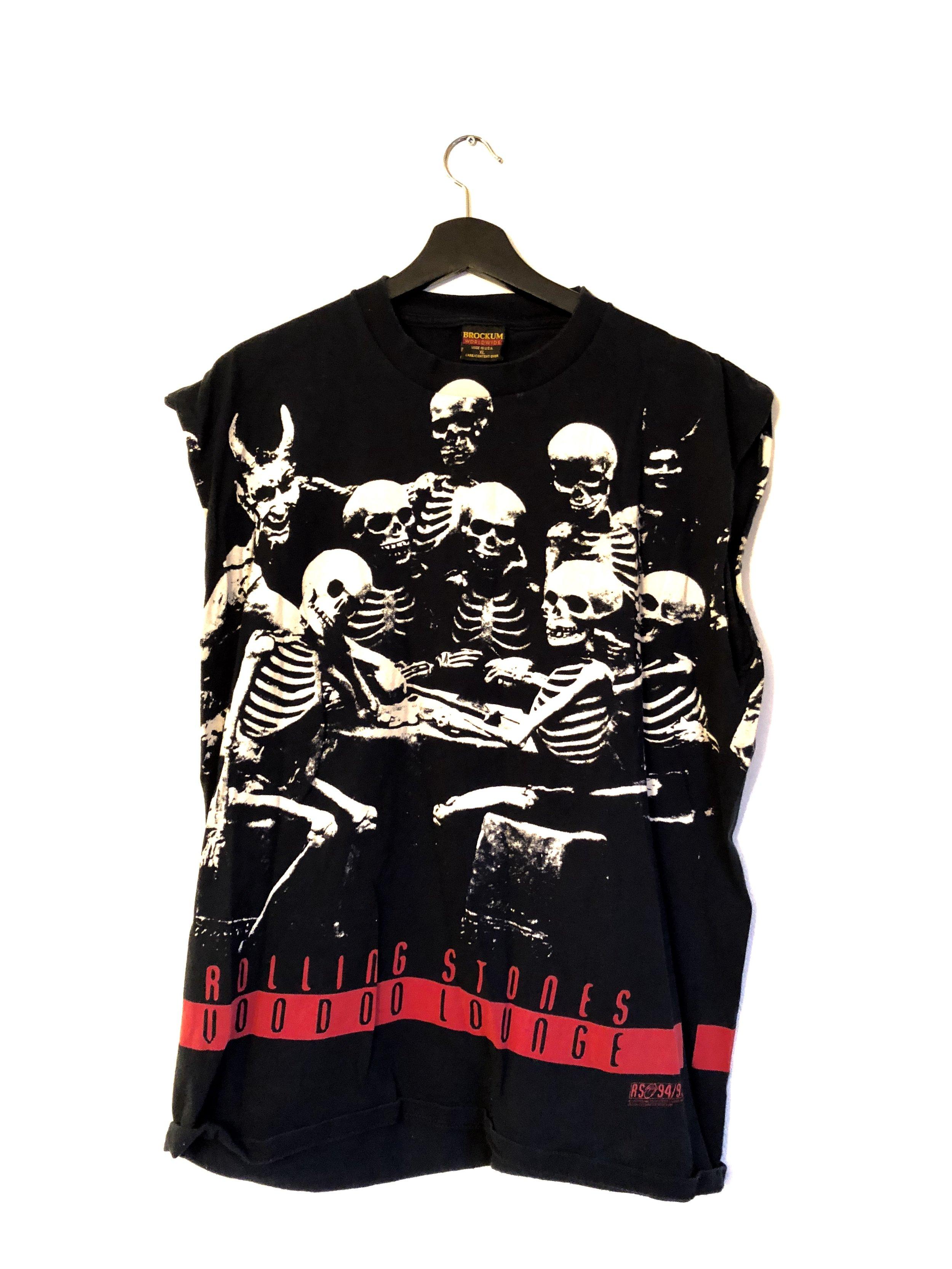 991b697eb4c4 Authentic Vintage Rolling Stones Voodoo Lounge T-Shirt — Glorydays ...