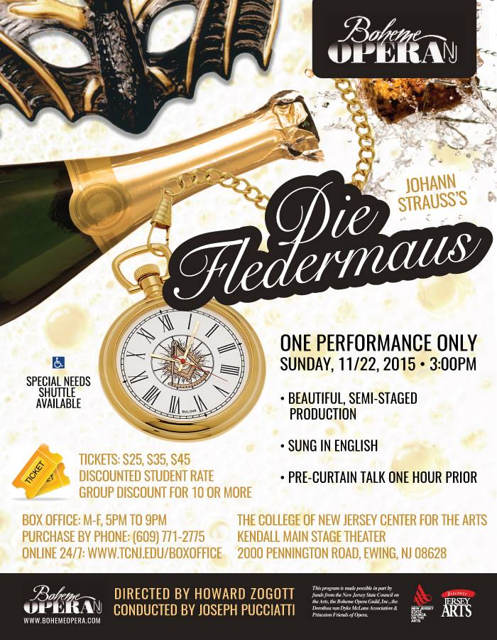 Winter 2015- Die Fledermaus