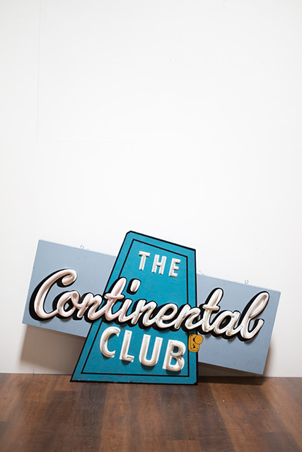 Continental Neon Sign
