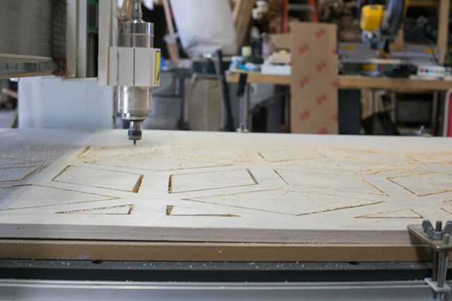 Were y'all aware we have a CNC machine in-house? What do want? We can make it!