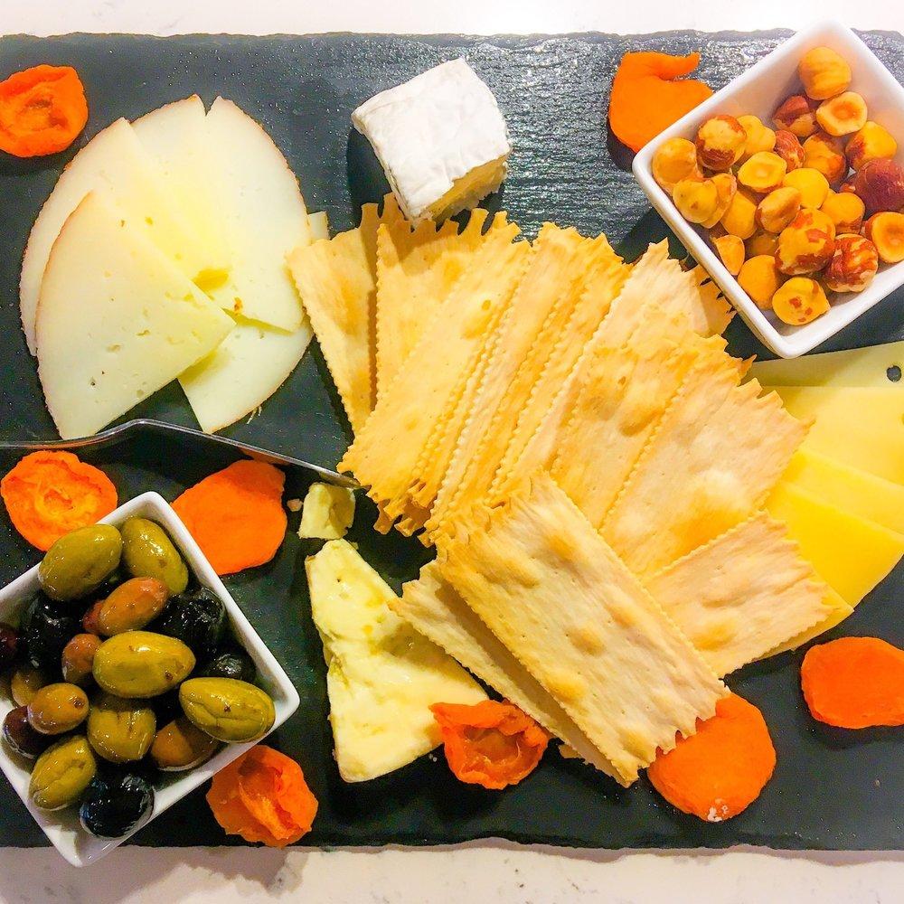 Solena Estate's Cheese Plate.JPEG