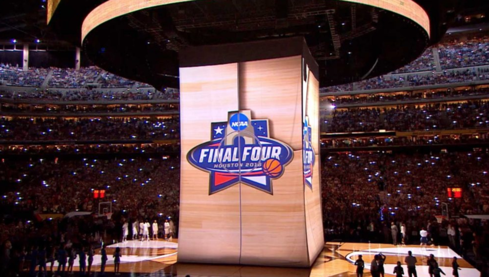 NCAA FINAL FOUR VIDEO PROJECTION MAPPING -