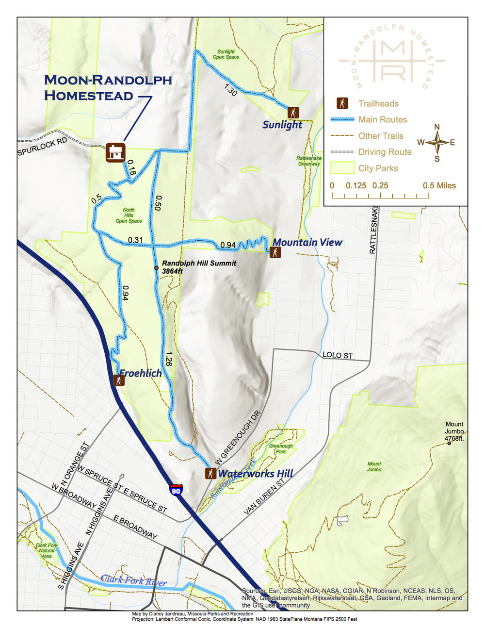 Maps MoonRandolph Homestead