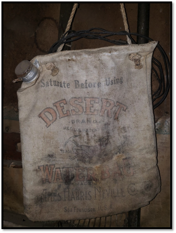 Ames Harris Neville Company Desert Water Bag, c. 1940