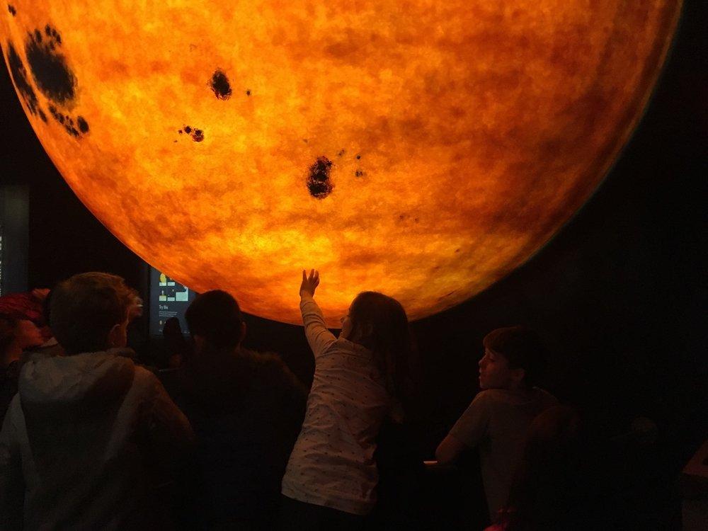 Planatarium at the Museum of Science