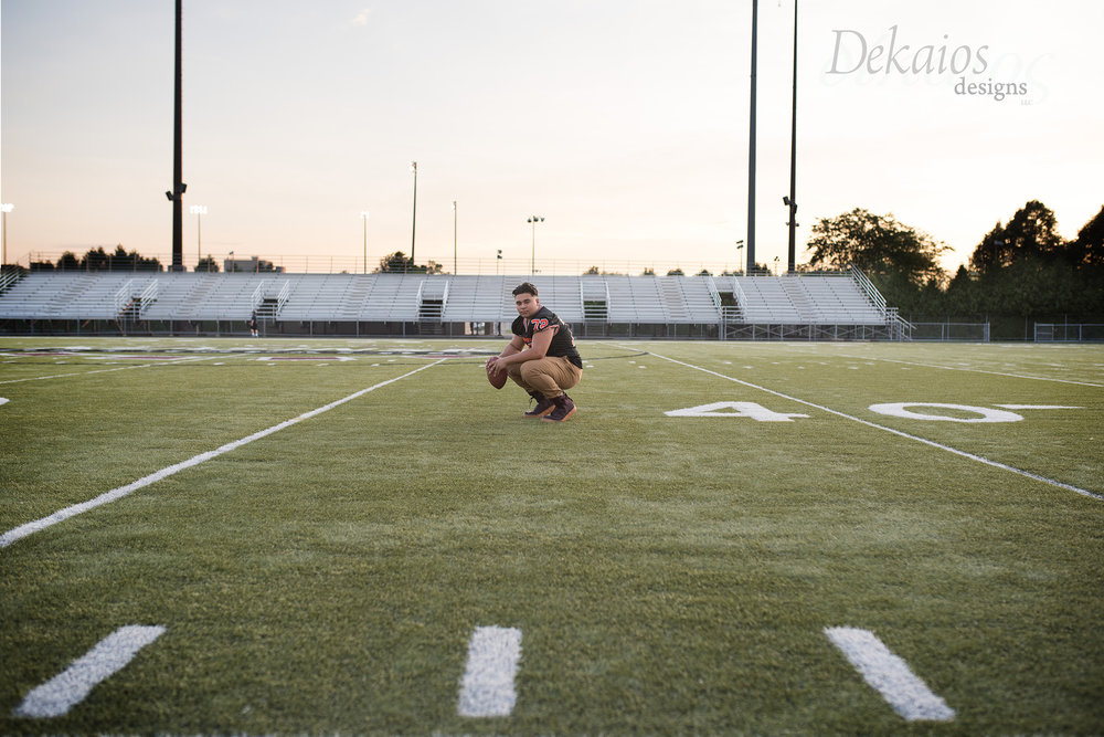 Love that we capture the moment on the football field.