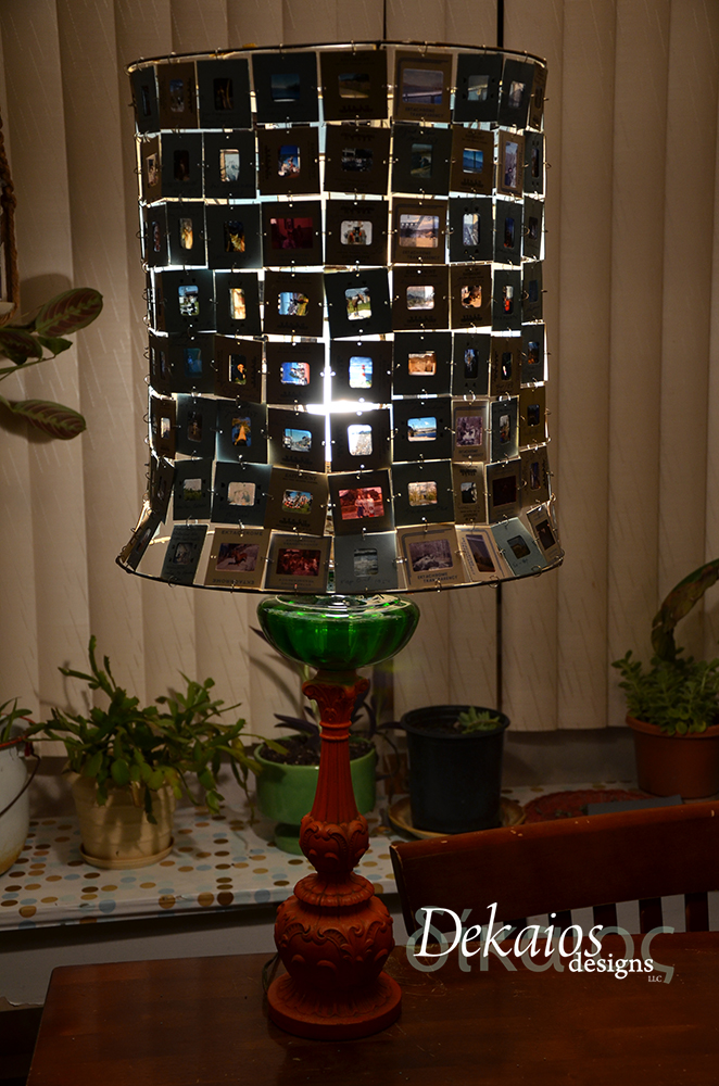 Slideshow lamp